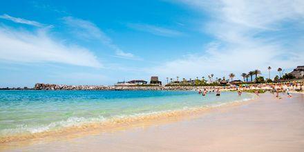 Stranden Playa Amadores på Gran Canaria, De Kanariske Øer, Spanien.