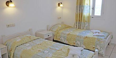 2-værelses lejlighed på hotel 3 Brothers udenfor Agia Anna på Naxos.