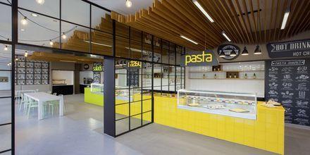 Food court Snack & Go på Hotel Abora Catarina på Gran Canaria, De Kanariske Øer.