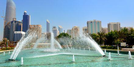 Corniche Park i Abu Dhabi, De Forenede Arabiske Emirater.