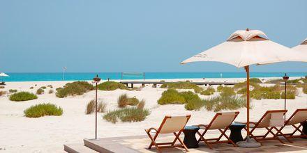 Stranden i Abu Dhabi.