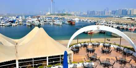 Marinaen i Abu Dhabi, De Forenede Arabiske Emirater.
