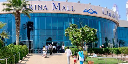 Shoppingcenter i Abu Dhabi, De Forenede Arabiske Emirater.