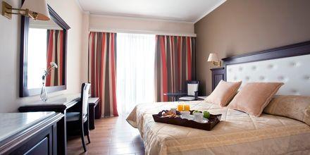 Dobbeltværelse på hotel Achillion på Kreta, Grækenland.