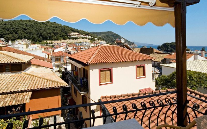 Hotel Acropol Tourist i Parga, Grækenland.