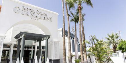 Indgang til Hotel Adrian Colon Guanahani på Tenerife, De Kanariske Øer.