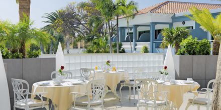 Morgenmadsrestaurant på Hotel Adrian Colon Guanahani på Tenerife, De Kanariske Øer.