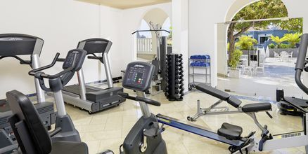 Fitnessfaciliteter på Hotel Adrian Colon Guanahani på Tenerife, De Kanariske Øer.