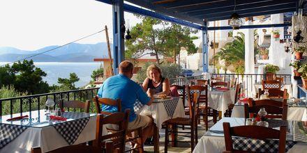 Taverne på Hotel Aegean Homes på Kalymnos, Grækenland