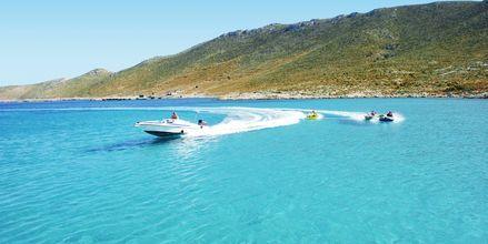 Vandsport på Hotel Aegean View Aqua Resort på Kos, Grækenland.