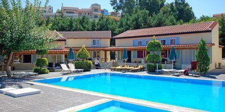 Poolområde på Hotel Aegean View Aqua Resort på Kos, Grækenland.