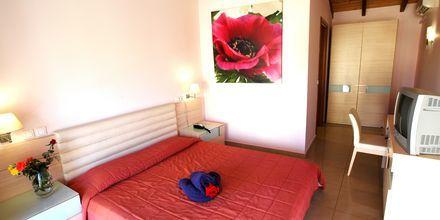 Enkeltværelse på Hotel Aegean View Aqua Resort på Kos, Grækenland.