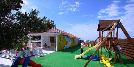 Legeplads på Hotel Aegean View Aqua Resort på Kos, Grækenland.