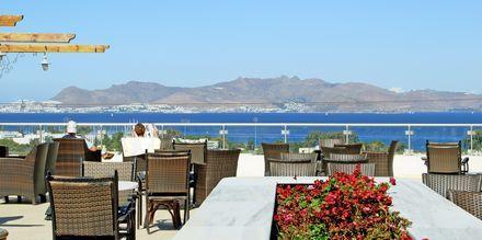 Restaurant på Hotel Aegean View Aqua Resort på Kos, Grækenland.