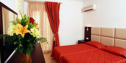 Dobbeltværelser på hotel Aeolis i Naxos by.