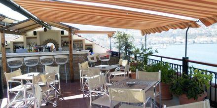 Restaurant på Hotel Aeolis i Samos by, Grækenland.
