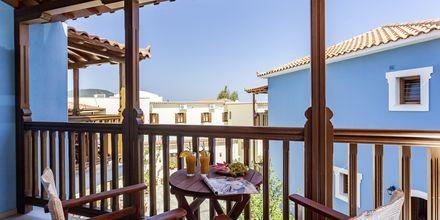 Dobbeltværelse på hotel Aeolos på Skopelos, Grækenland.