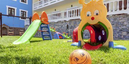 Legeplads på Hotel Aeolos på Skopelos, Grækenland.