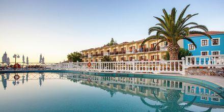 Poolen på Hotel Aeolos på Skopelos, Grækenland.