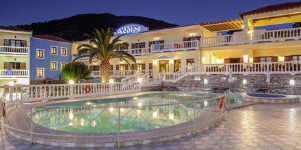 Hotel Aeolos på Skopelos, Grækenland.