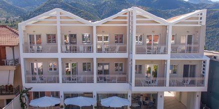 Hotel Aggelos på Lefkas, Grækenland.