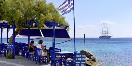 Agios Prokopios Beach på Naxos i Grækenland.