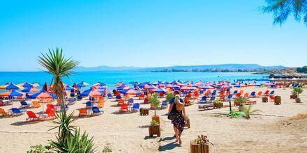 Stranden ved Agii Apostoli på Kreta, Grækenland.