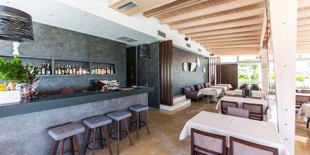 Bar på hotel Agimi & S i Saranda.