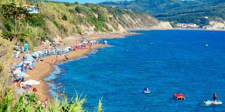 Agios Georgios på Korfu, Grækenland.