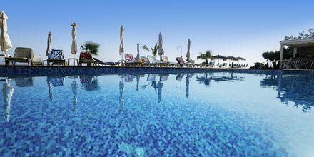 Pool på hotel Akoition i Agia Marina, Kreta