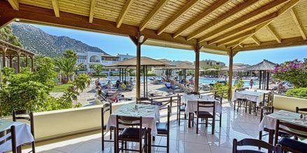 Restaurant på Hotel Akti Beach Club i Kardamena på Kos, Grækenland.