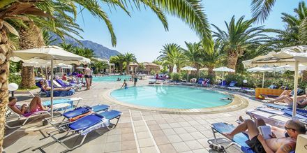 Poolen, Kalimera, på Hotel Akti Beach Club i Kardamena på Kos, Grækenland.