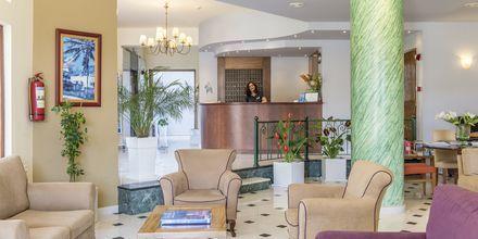 Receptionen på Hotel Akti Chara på Kreta, Grækenland