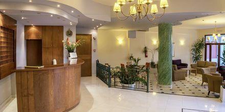 Lobby på Hotel Akti Chara på Kreta, Grækenland