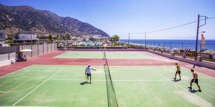 Tennis på Hotel Akti Palace i Kardamena på Kos, Grækenland.