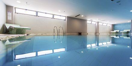 Indendørs pool på Hotel Akti Palace i Kardamena på Kos, Grækenland.