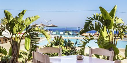Poolområdet på Hotel Akti Palace i Kardamena på Kos, Grækenland.