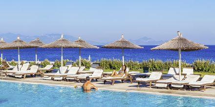 Poolområde på Hotel Akti Palace i Kardamena på Kos, Grækenland.