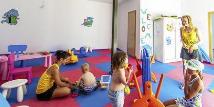 Børneklub på Hotel Akti Palace i Kardamena på Kos, Grækenland.