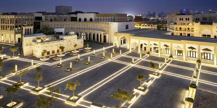 Torvet udenfor Al Najada by Tivoli i Doha, Qatar.