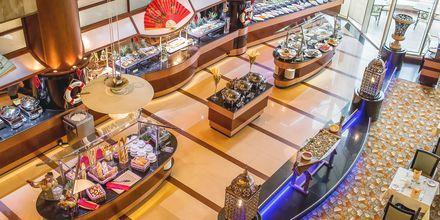 Restaurant Sevilla på hotel Al Raha Beach i Abu Dhabi, De Forenede Arabiske Emirater.