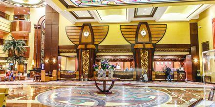 Lobby på hotel Al Raha Beach i Abu Dhabi, De Forenede Arabiske Emirater.