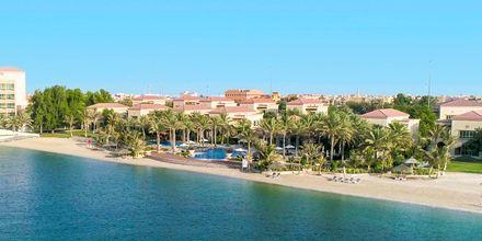 Den anden strand ved villaerne på hotel Al Raha Beach i Abu Dhabi. God strand med dejligt badevand.
