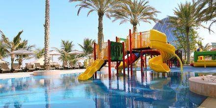 Børnepoolen på hotel Al Raha Beach i Abu Dhabi, De Forenede Arabiske Emirater.