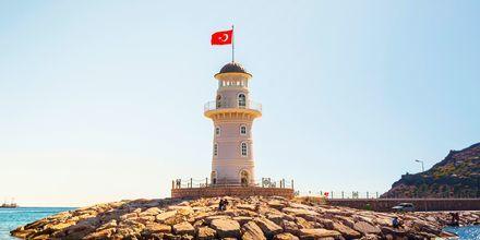 Fyrtårn i Alanya, Tyrkiet.