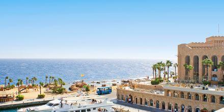 Marina på Hotel Albatros Citadel Resort i Sahl Hasheesh, Egypten.