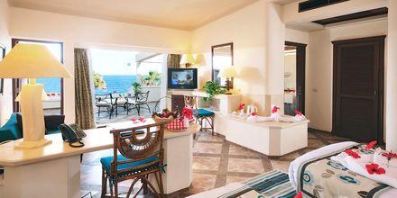 Dobbeltværelse på Hotel Citadel Azur Resort i Sahl Hasheesh, Egypten.