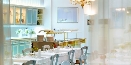 Restaurant på Albatross Hotel & Spa i Hersonissos på Kreta, Grækenland