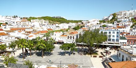 Den gamle by i Albufeira, Portugal.