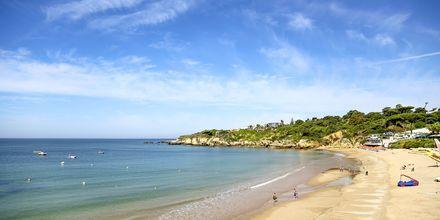 Praia da Ouro-stranden ved Albufeira, Portugal.